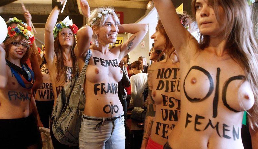 Si l'exhibitionnisme peut faire sourire, les Femen mènent un vrai combat pour la liberté d'expression.