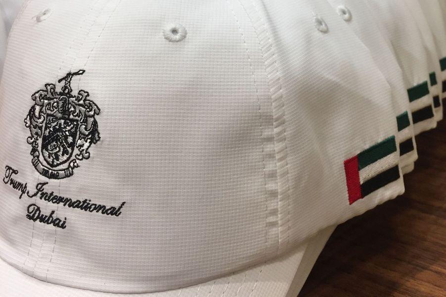 Inauguration d'un parcours de golf Trump à Dubaï, le 18 février 2017.