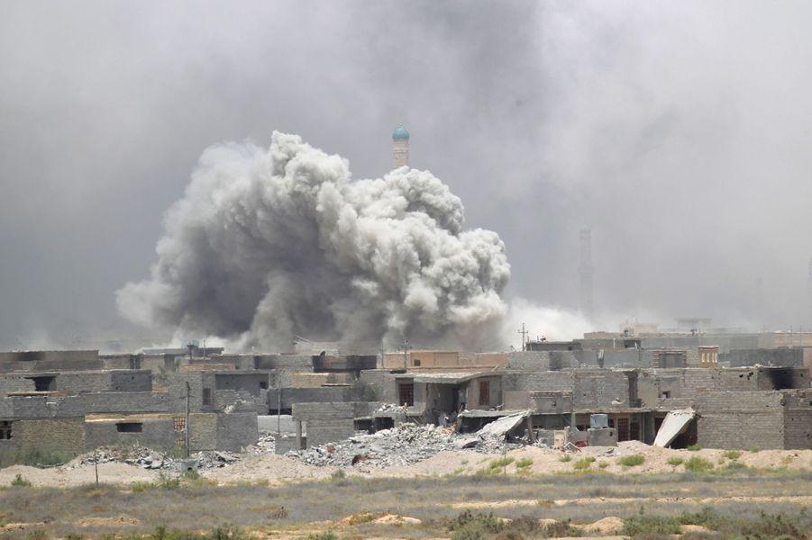 Les forces d'élite irakiennes n'étaient plus qu'à trois kilomètres du centre de Fallouja vendredi.