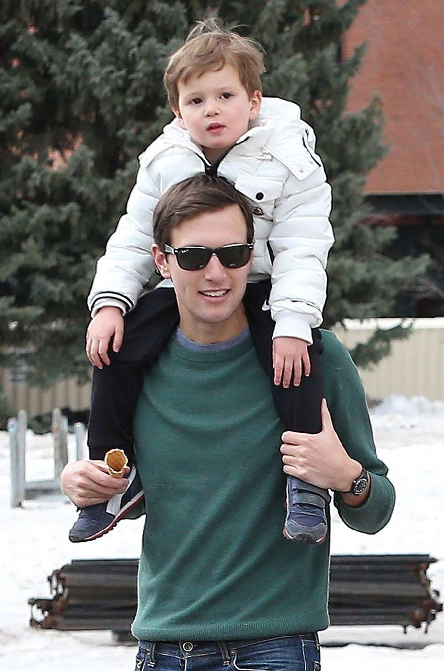 Ivanka Trump et son mari Jared Kushner en vacances à Aspen avec leurs enfants.
