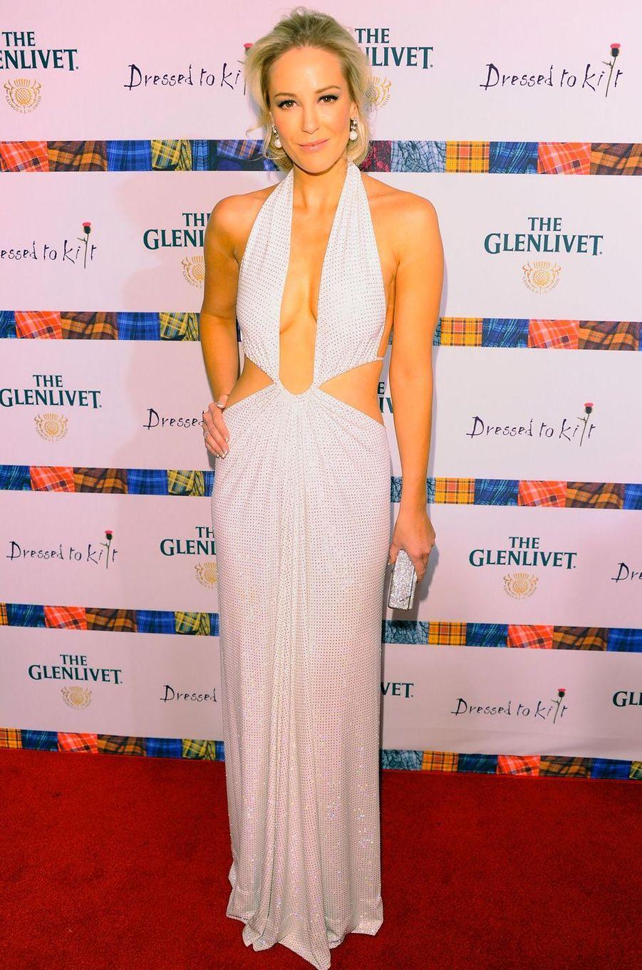 Louise Linton à l'événement «Dressed To Kilt» à New York, le 5 avril 2011.