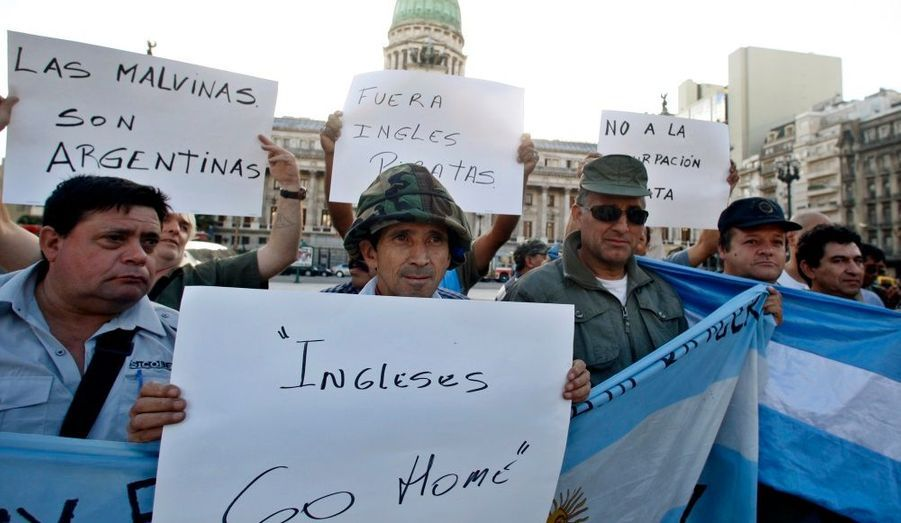 Encore aujourd'hui, les Argentins revendiquent l'intégrité d'un territoire situé à 480 km de leurs côtes.