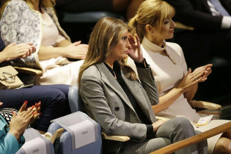 Melania Trump au siège des Nations unies, le 19 septembre 2017.