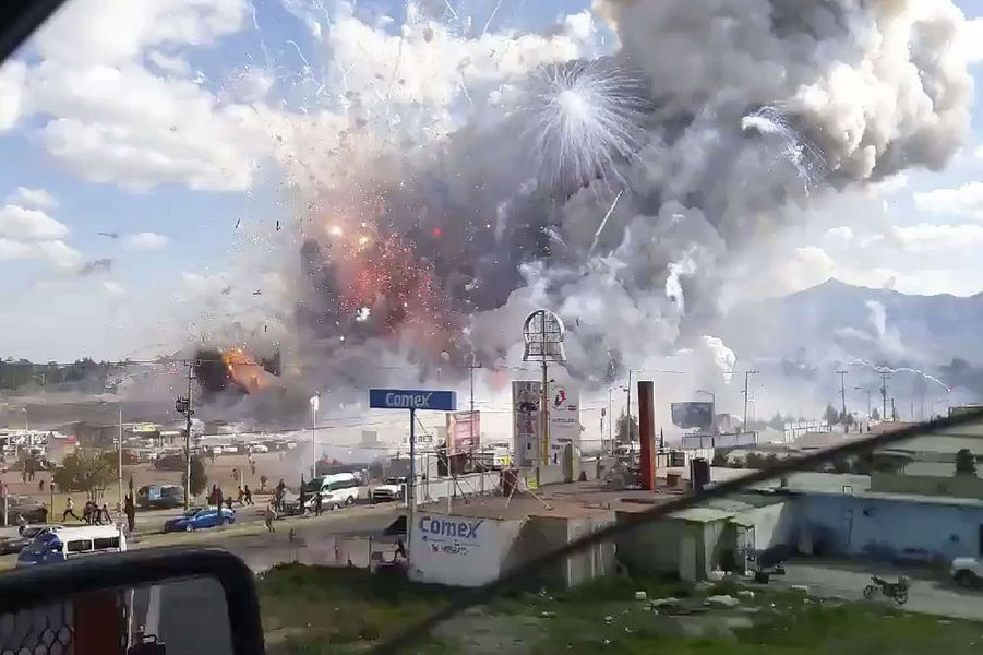 L'explosion a eu lieu mardi.