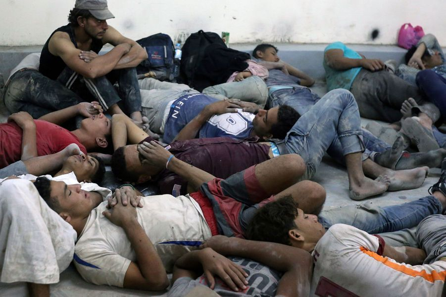 Au moins 42 personnes sont mortes dans le naufrage de l'embarcation au large des côtes égyptiennes.