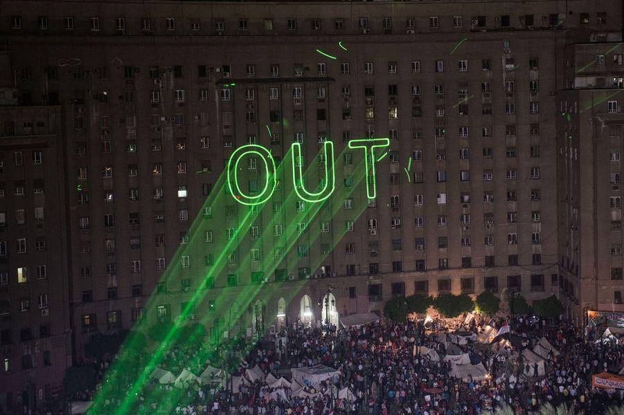 Morsi destitué, explosion de joie place Tahrir