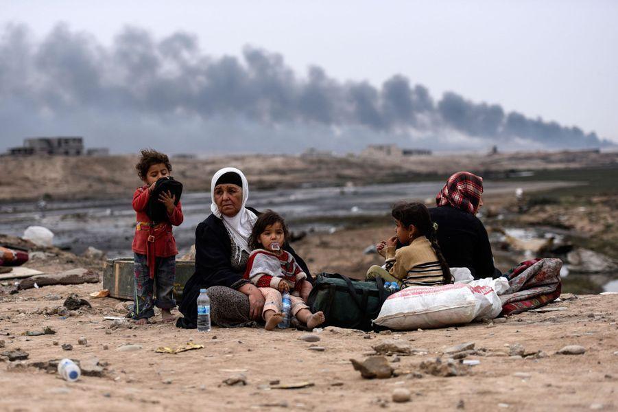 Mossoul : Ces familles libérées de l'enfer
