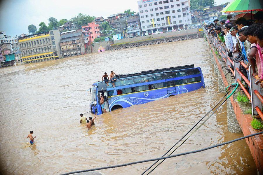 La mousson fait de nombreuses victimes en Inde depuis juin dernier