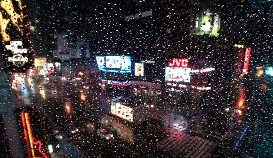 Broadway sous la pluie