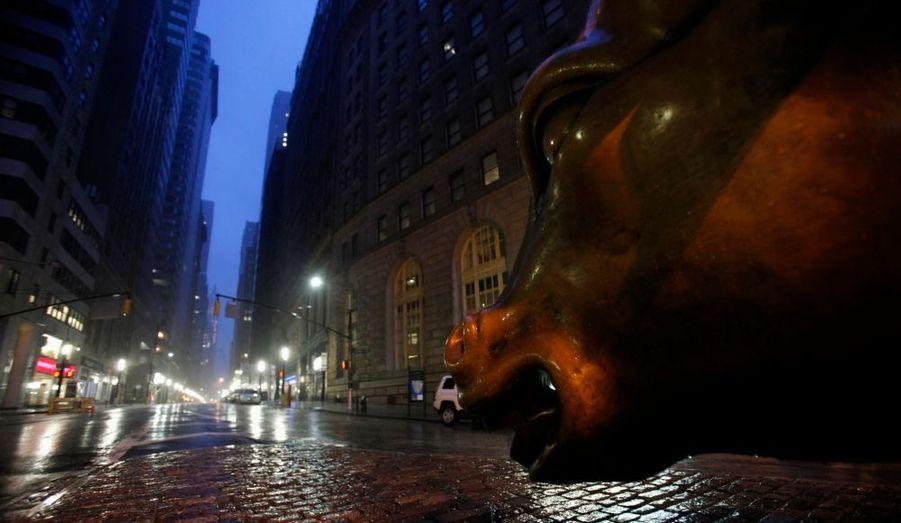 Le Lower Manhattan sous les eaux ?