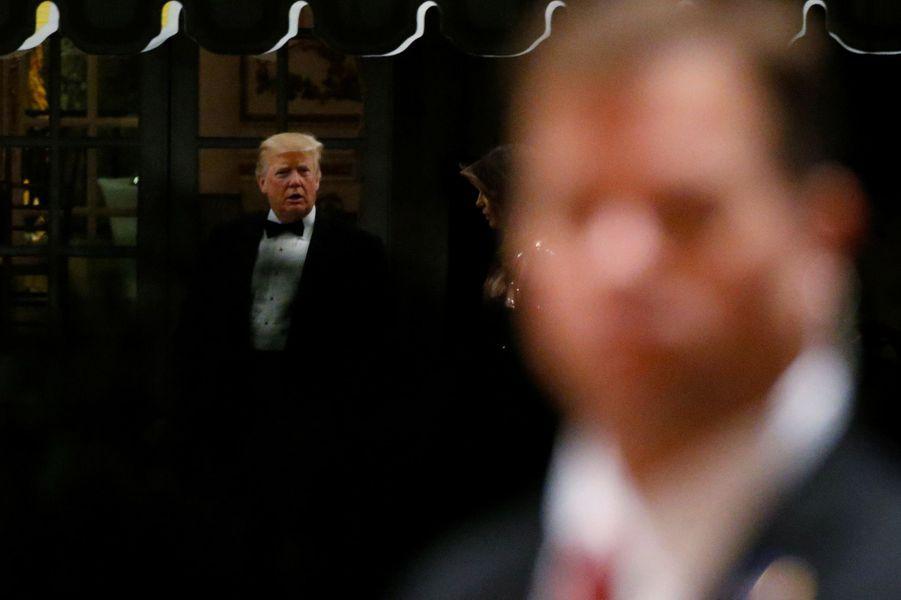 Donald Trump à Mar-a-Lago, le 31 décembre 2017.