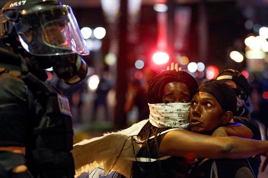 Nouvelle nuit de violences à Charlotte