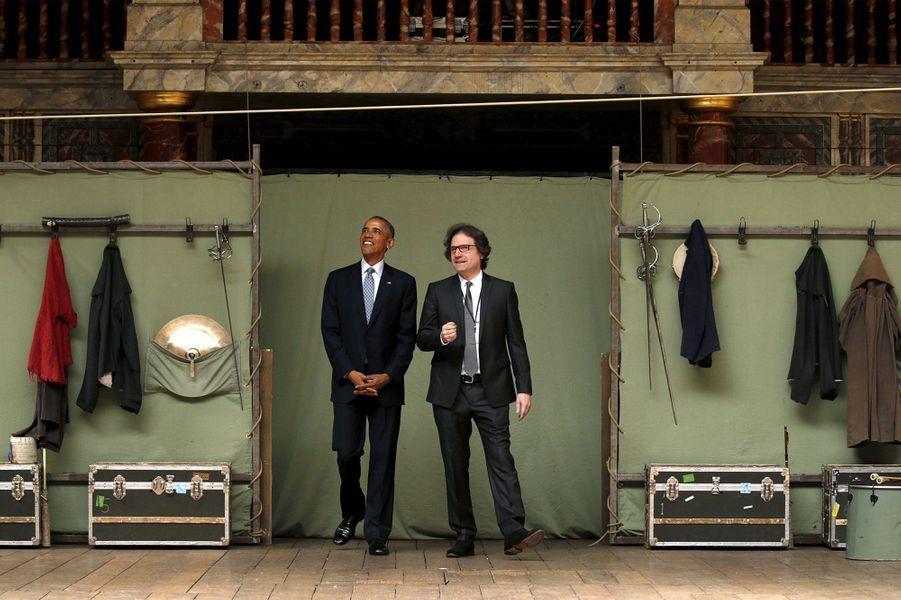 """Obama, """"in love"""" de Shakespeare"""