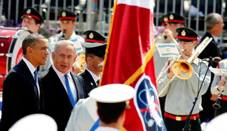 Bill Clinton est le président qui a plus plus visité Israël (4 visites)