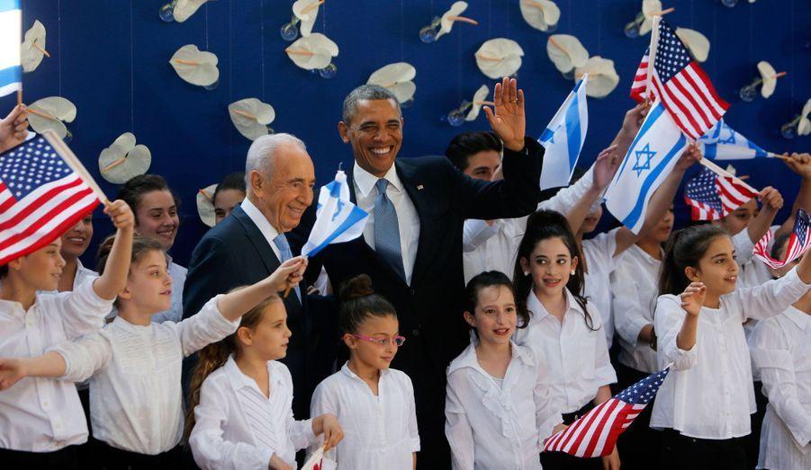 Shimon Peres et Barack Obama