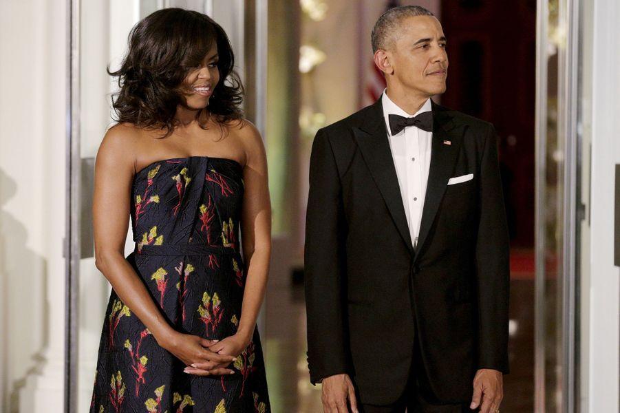 Obama trudeau d ner d etat la maison blanche for Barack obama a la maison blanche