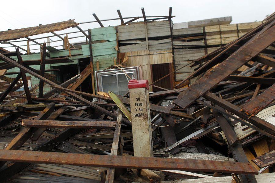 Après avoir ravagé la Guadeloupe etla Dominique, l'ouragan Maria s'est abattu sur Porto Rico mercredi