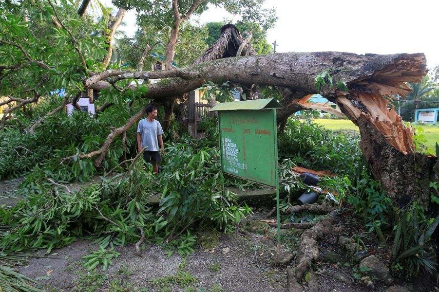 Philippines typhon Nock Ten 2