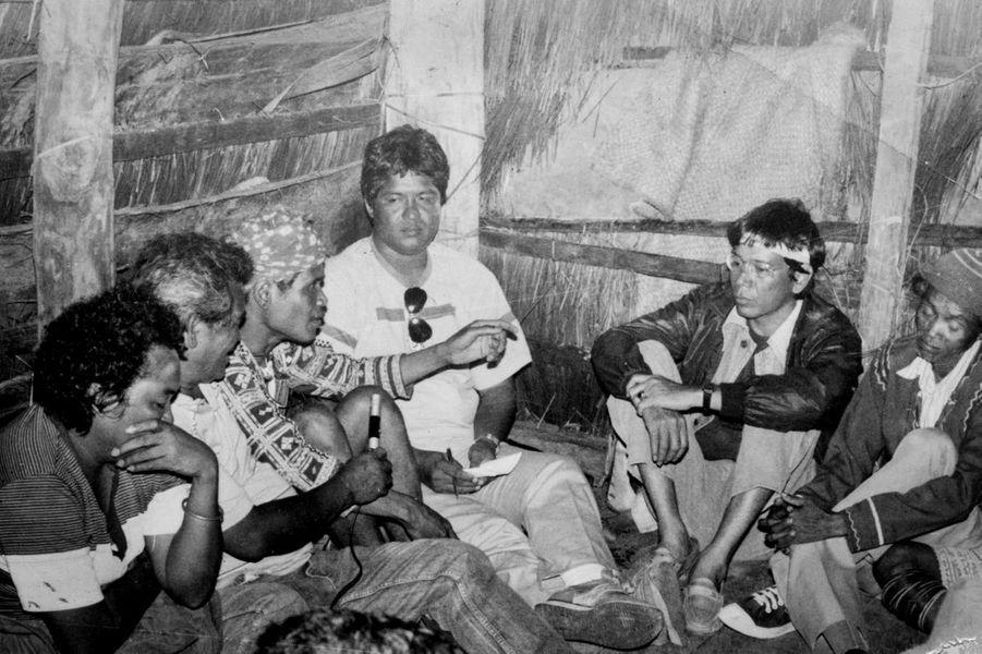 Rodrigo Duterte en 1987.