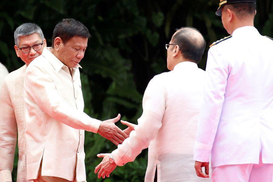 Rodrigo Duterte a prêté serment à Manille, le 30 juin 2016.