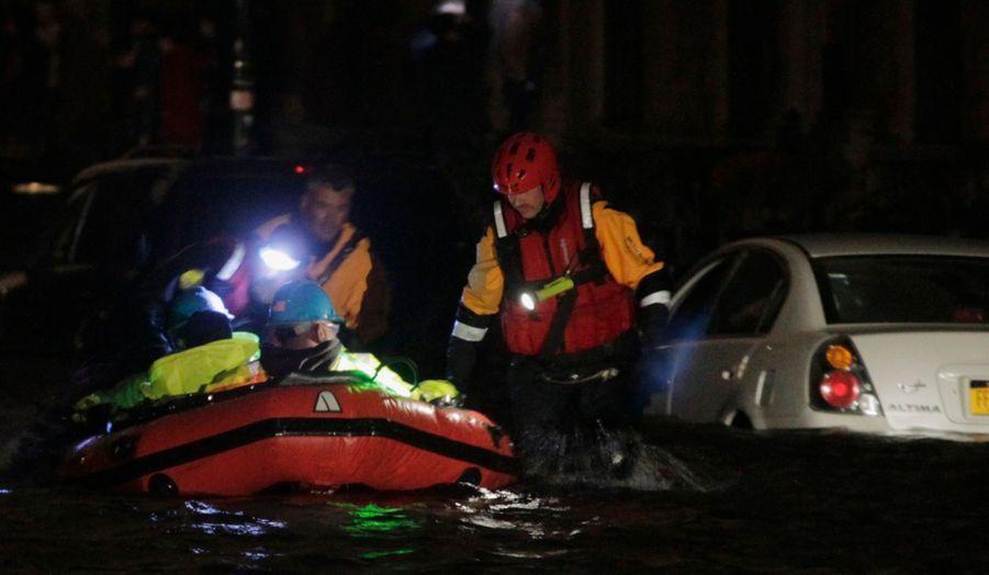 Evacuation flottante