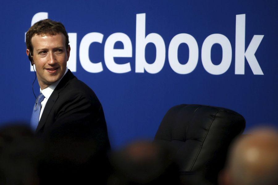 4ème : Marc Zuckerberg (Facebook),55,5 milliards de dollars