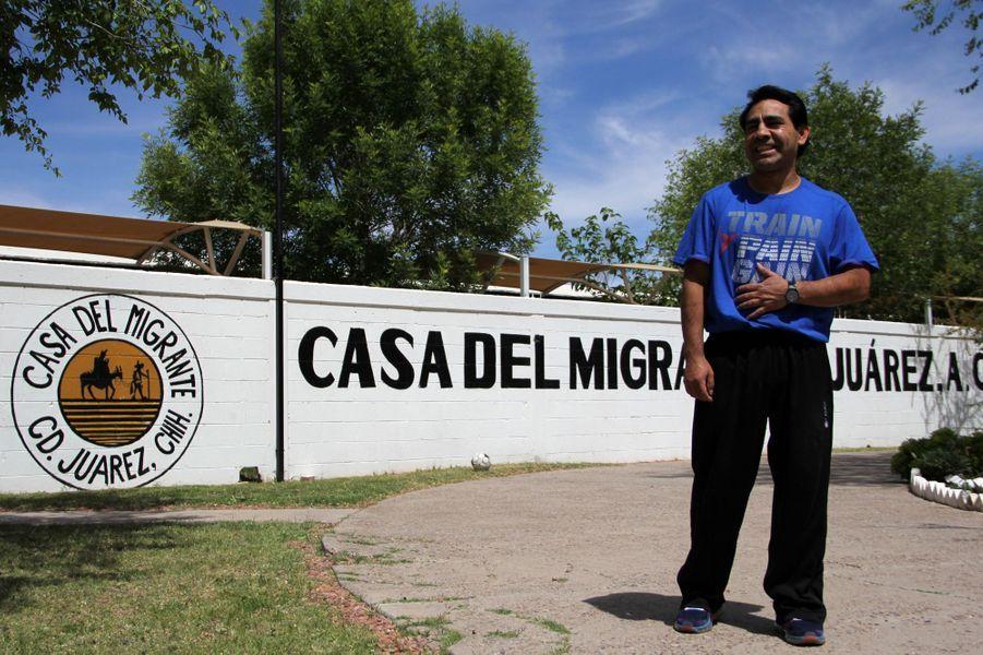 Roberto Beristain à Ciudad Juarez, au Mexique, le 5 avril 2017.