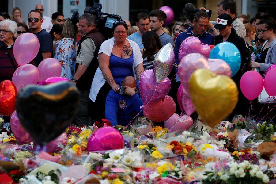 Charlotte Campbell, la mère d'une des victimes de l'attentat de Manchester, le 25 mai 2017.