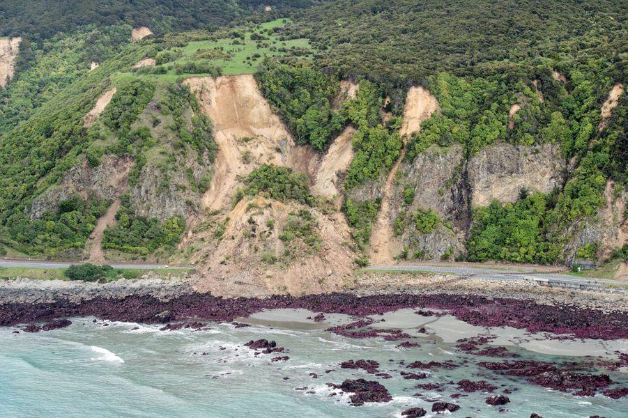 Le séisme de dimanche est l'un des plus forts jamais enregistrés en Nouvelle-Zélande