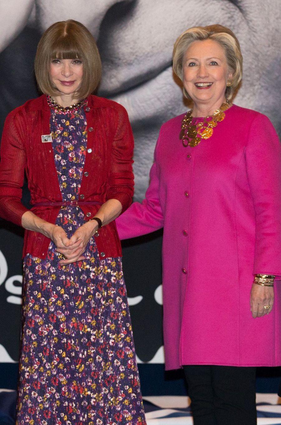 Anna Wintour Hillary Clinton