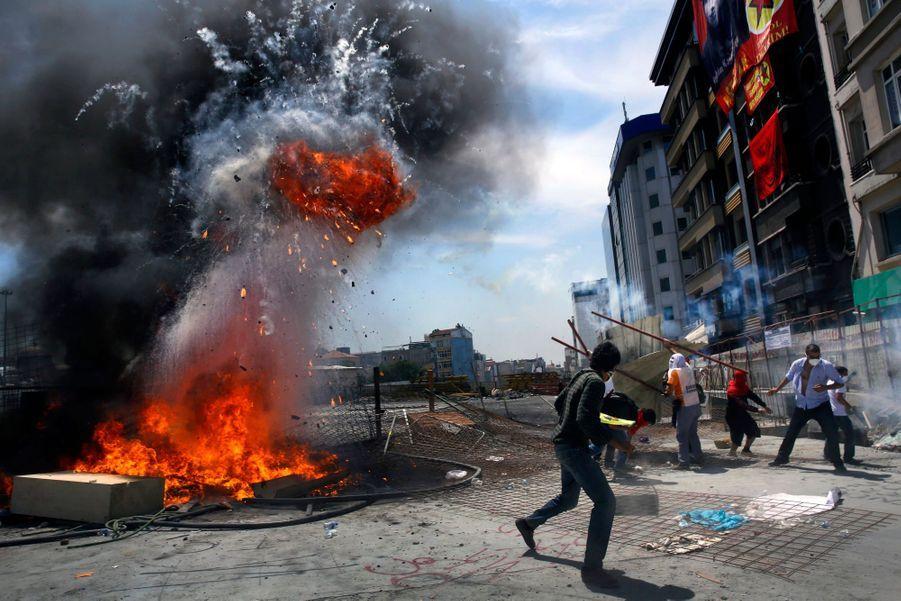 Taksim, place du chaos
