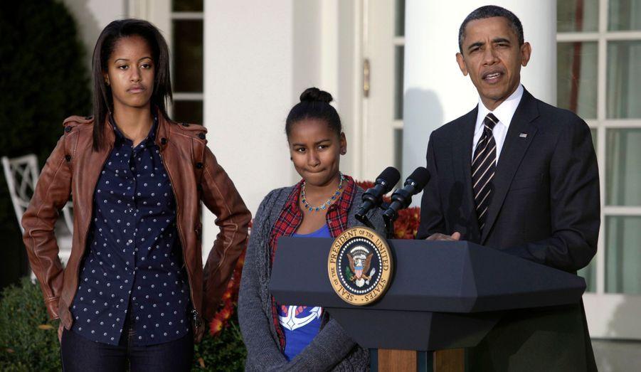 Lors de son discours, Barack Obama a eu une pensée pour les victimes du passage de l'ouragan Sandy.