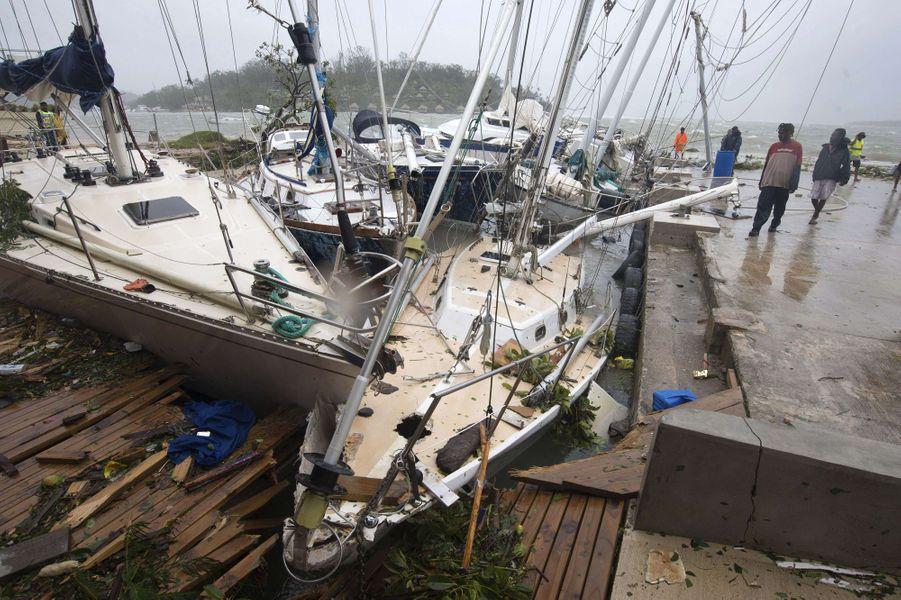 Le Cyclone Pam a frappé le Vanuatu