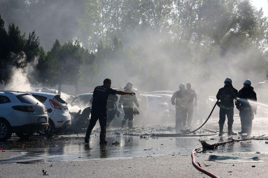 Une explosion à Antalya, dans le sud de la Turquie, a provoqué une dizaine de blessés, mardi 25 octobre 2016.