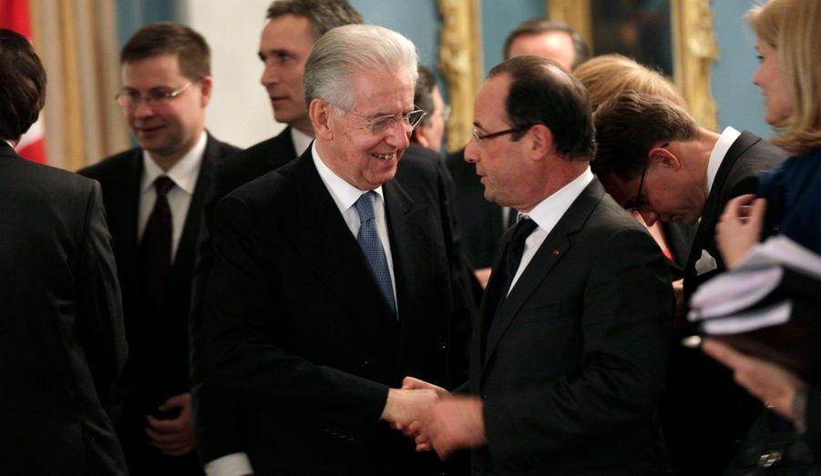 Le soutien à Mario Monti