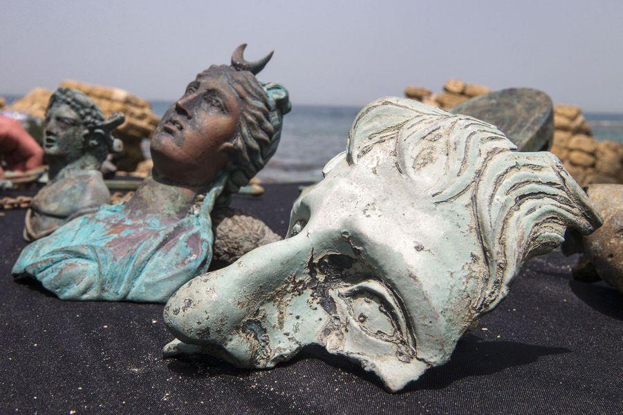 Le trésor a été trouvé dans le port antique de Césarée