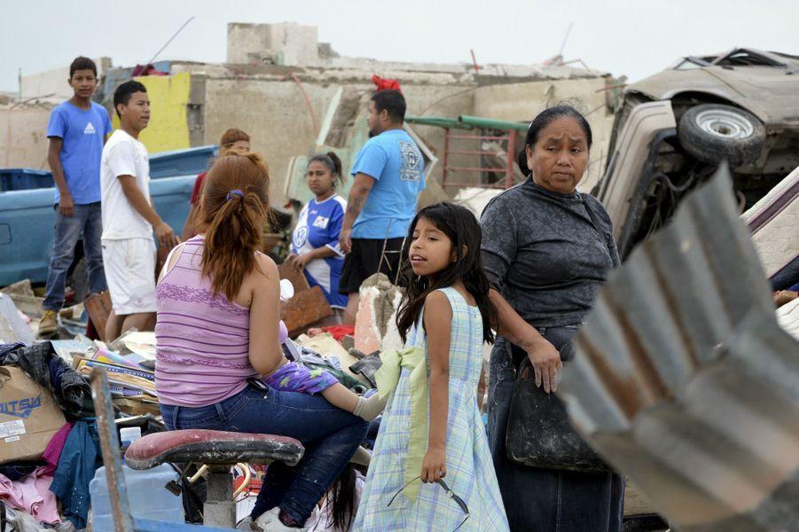 Les vents ont balayé la ville de Ciudad Acuña