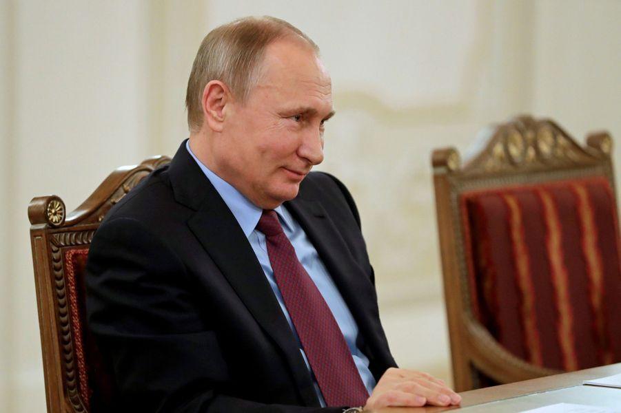 Le président russe Vladimir Poutine arrive en têtedu classement des personnalités les plus puissantes du monde réalisé par «Forbes»..
