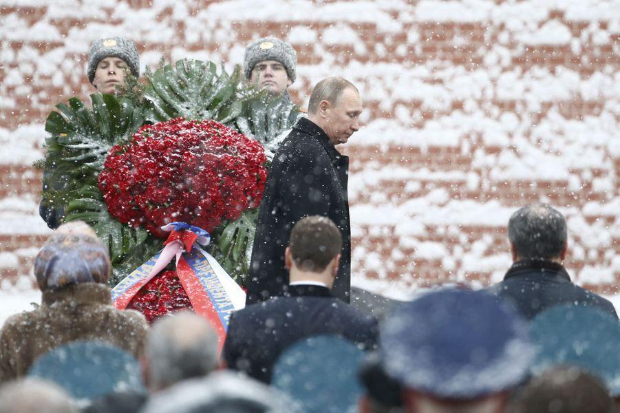 Vladimir Poutine à Moscou, le 23 février 2017.