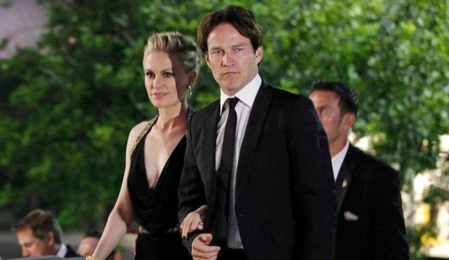 Stephen Moyer et sa femme Anna Paquin