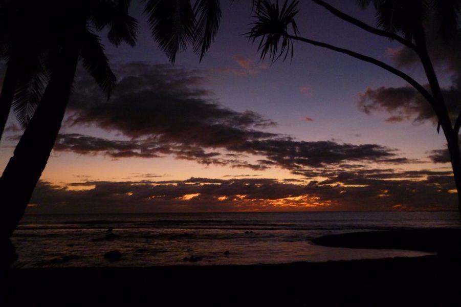 Lever du soleil sur Wallis-et-Futuna