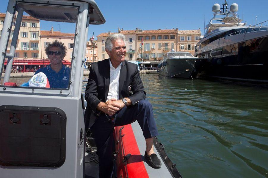 Avec le Capitaine Jean-Francois Tourret directeur du port de plaisance