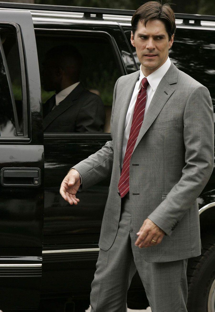 "L'agent spécial superviseur Aaron ""Hotch"" Hotchner (Thomas Gibson)"