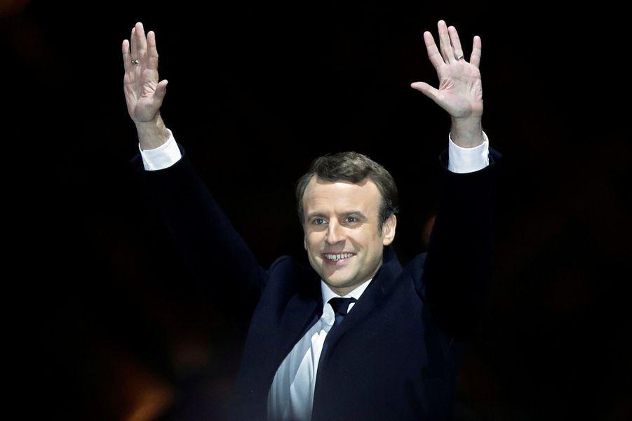 Emmanuel Macron a été élu à 39 ans.