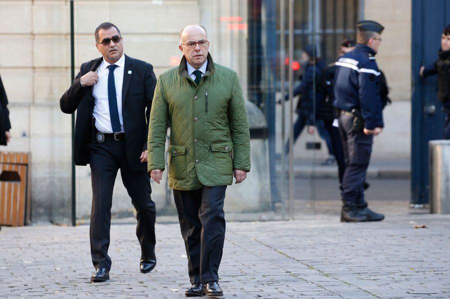 Bernard Cazeneuve à Matignon, en novembre 2016.