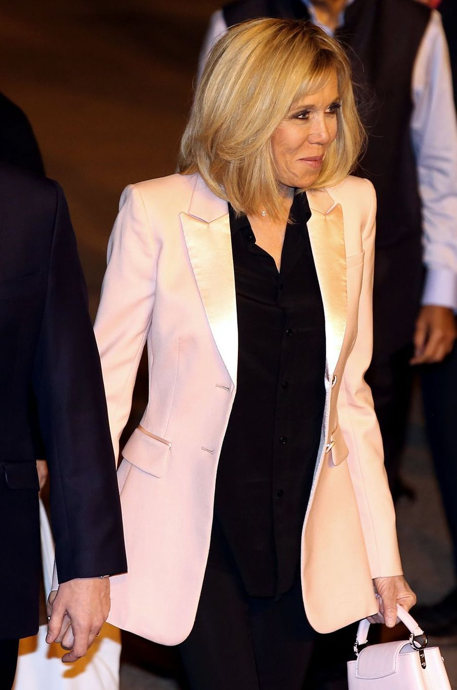 Arrivée à New Delhi de Brigitte Macron le vendredi 9 mars.