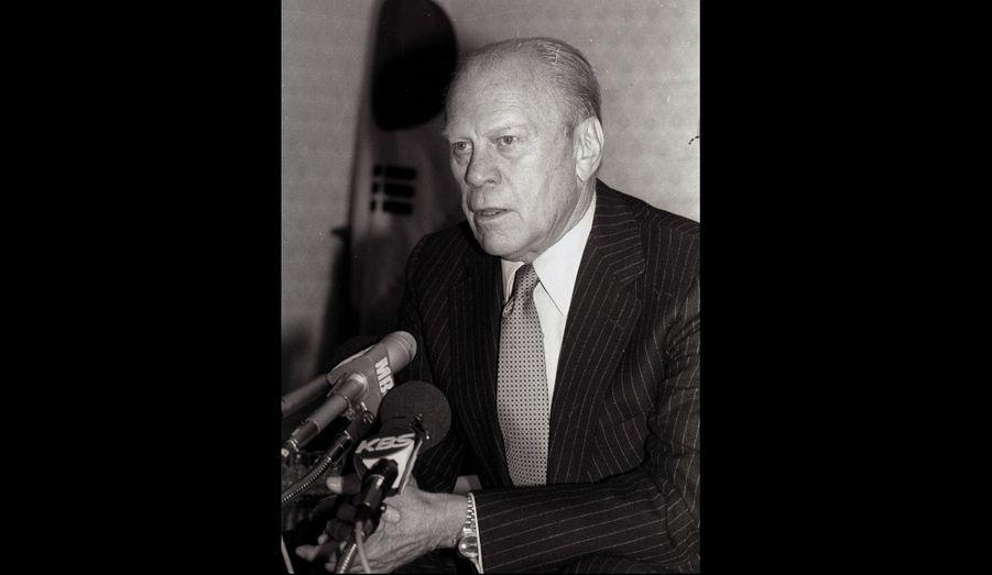 Gerald Ford: 1974-1977 (Républicain)