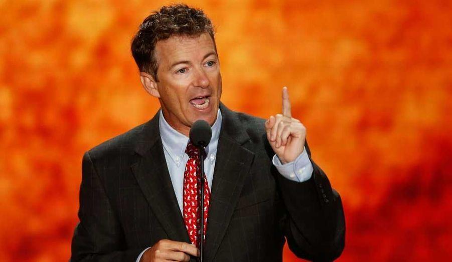 Le sénateur du Kentucky, libertarien Rand Paul, fils de Ron