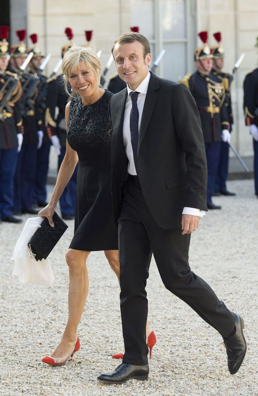 Brigitte et Emmanuel Macron, le 2 juin 2015.