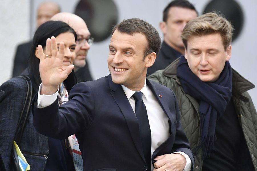 Emmanuel Macron inaugure son premier Salon de l'agriculture en tant que président de la République samedi